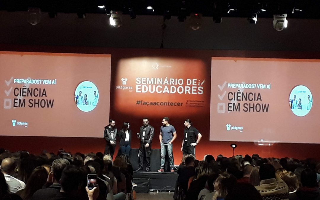 Road Show Seminário de Educadores Kroton: Vitória, Rio de Janeiro, São Paulo, Salvador, Fortaleza, Belo Horizonte